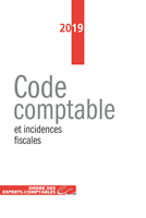 Code comptable et incidences fiscales 2019