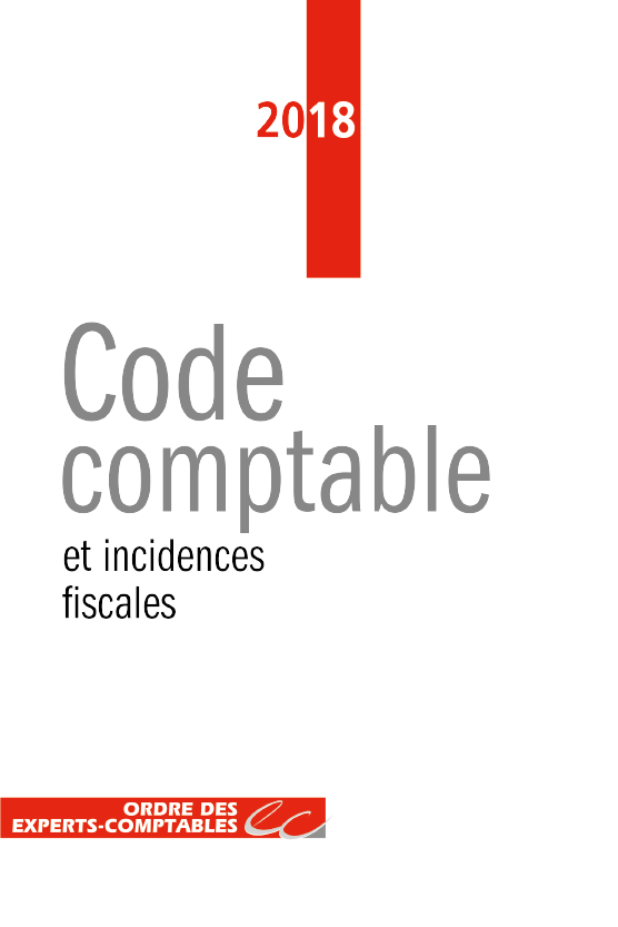 Code comptable et incidences fiscales 2018