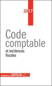 Code comptable et incidences fiscales 2017