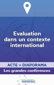 Actes du 70e Congrès - Evaluation dans un contexte international