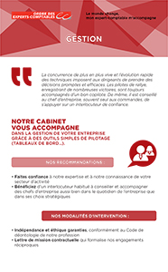 Fiche marketing client : Gestion